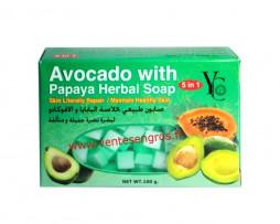 Savon-extrait-papaye-d'avocat