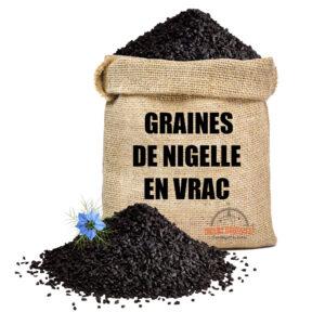 Graines de nigelle d'arabie 5kg en vrac