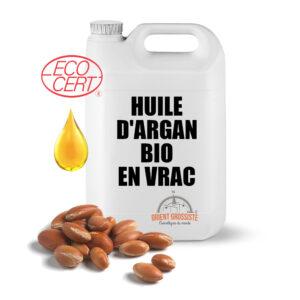 Huile d'Argan bio (Écocert) 5 litres en vrac