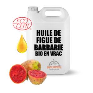 Huile de Figue de barbarie Bio (Écocert) 5 litres en vrac