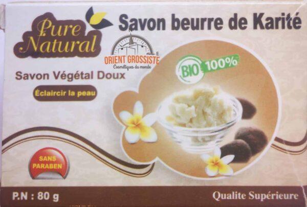 Savon au beurre de karité (Lot de 12)