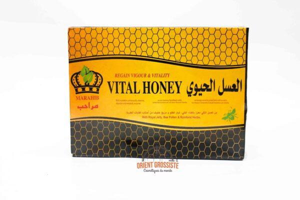 Miel Vital Honey - (Vendu par boîte de 20 sachets de 10 grs)