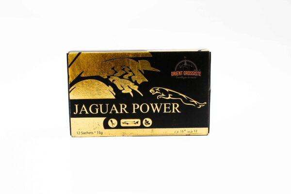Miel Aphrodisiaque jaguar power (Boîte de 12 sachets de 15g)