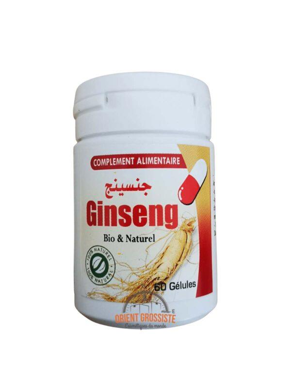 60 gélules de ginseng (Lot de 6)