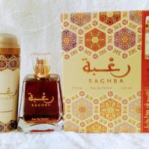Coffret Raghba Eau de Parfum 100ml + Déodorant 25ml offert
