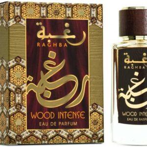 Raghba Wood Unisexe intense 100ml - Lattafa