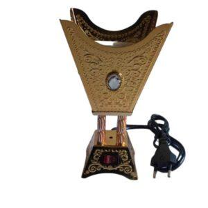 Encensoir électrique style diamant argent (Vendu par lot de 6)